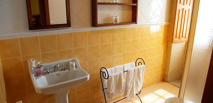 cuarto palmira baño Casa de Roque