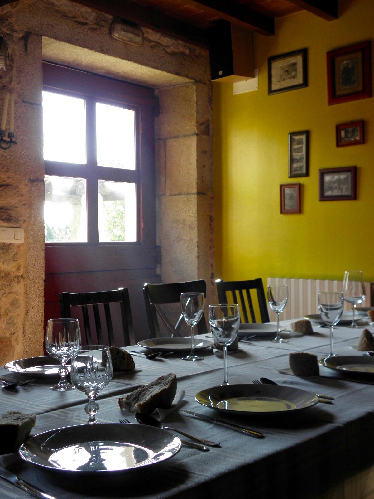 Casa Turismo Rural Casa de Roque - Muros e Noia Comedor