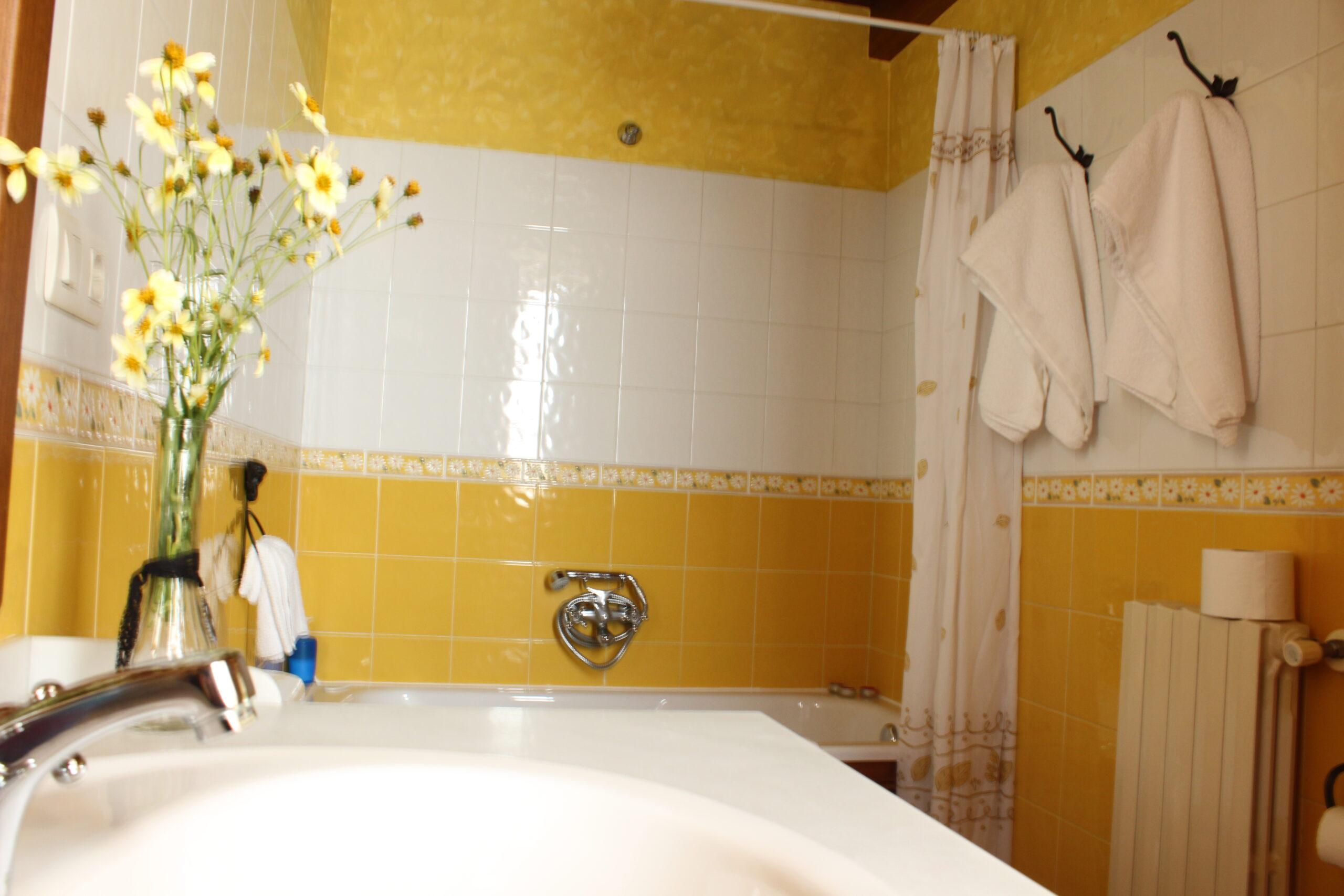 Baño de Cuarto de Tío Cura en Casa de Roque